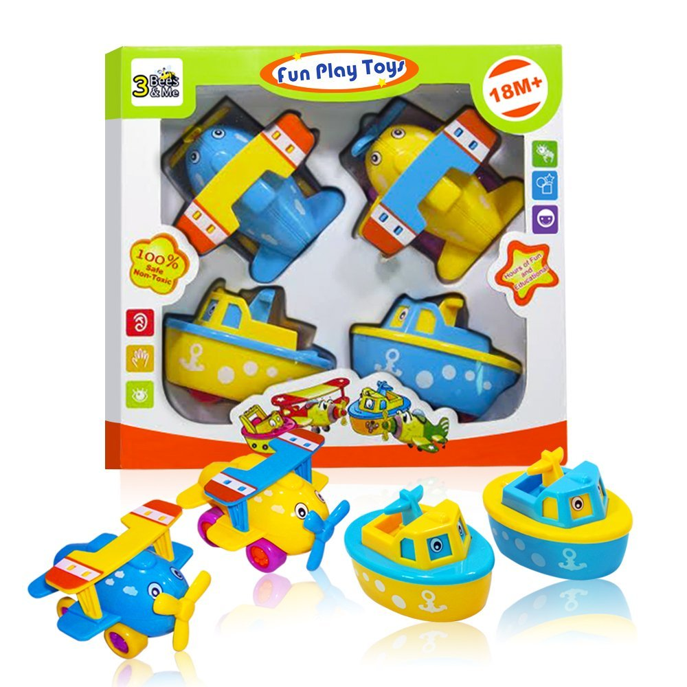 not just another southern gal boats and planes fun bath toys for