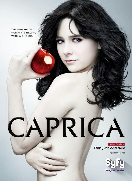Caprica season 1 TV poster