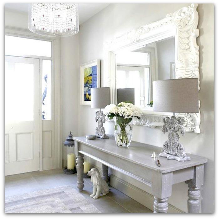 En casa de oly 15 ideas de decoraci n para cada tipo de - Decoracion hall entrada ...