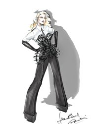 Jean Paul Gaultier designs new cone bra corset for Madonna