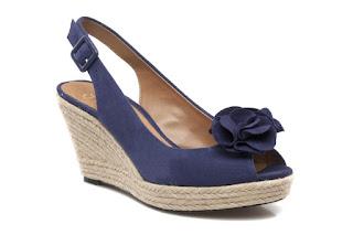 Blue clarks shoes