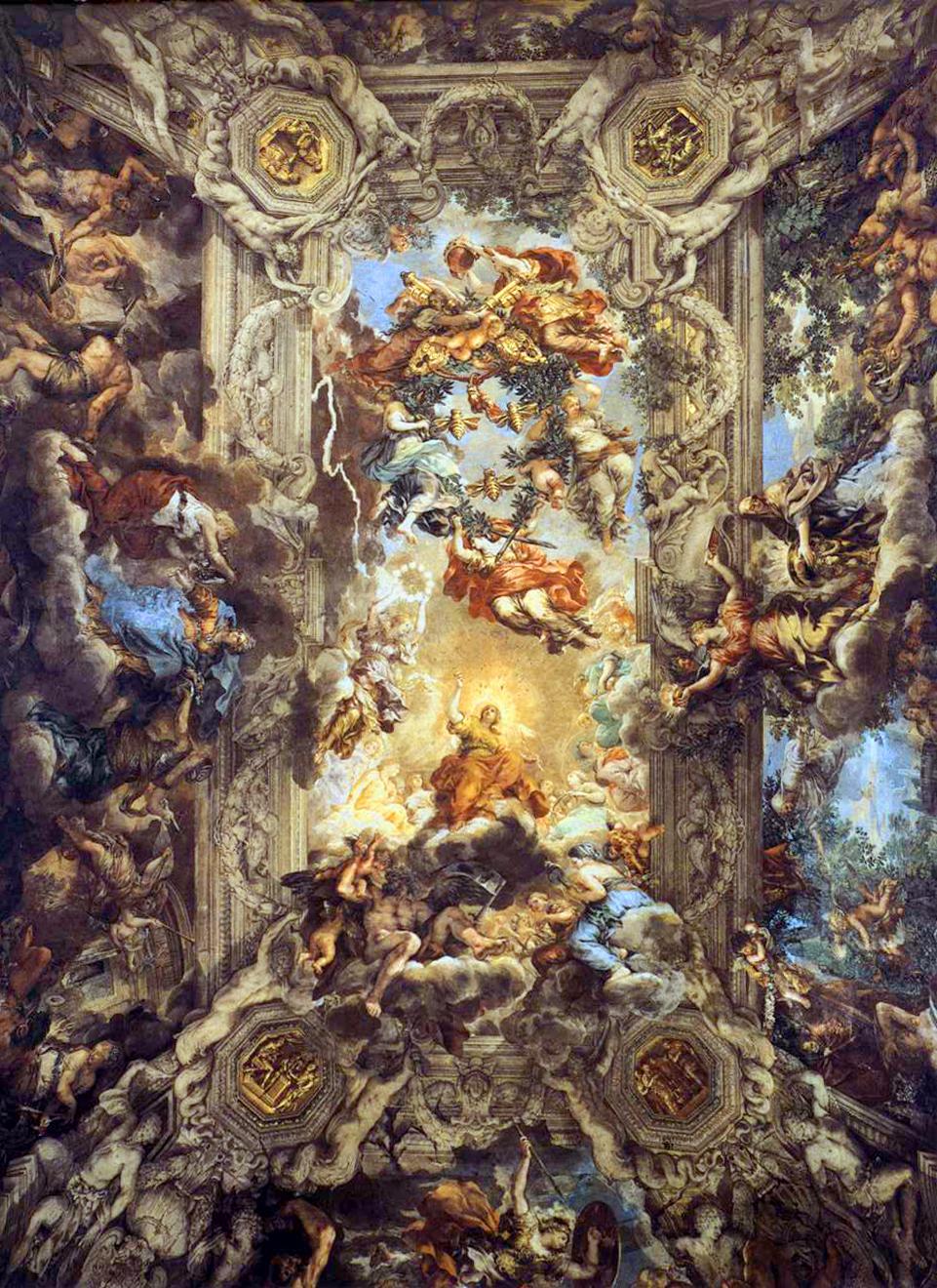 Se liga artista arte barroca for Baroque italien