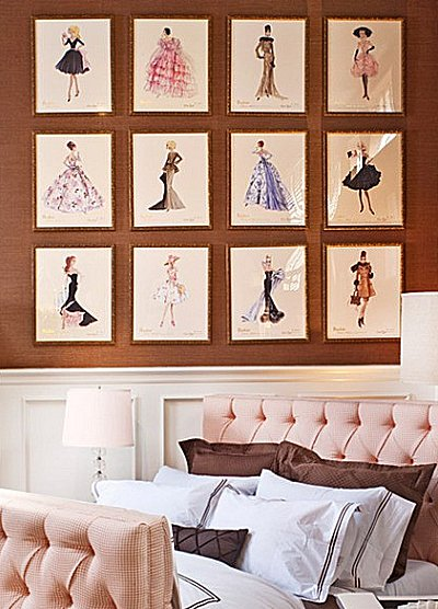 Style bedroom decorating - runway theme bedroom ideas - shoe decor ...
