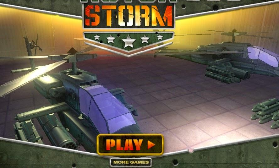 Juegos gratis de helicópteros - RotorStorm