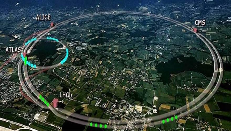 Περίεργος σχηματισμός από σύννεφα πάνω από το CERN [βίντεο]