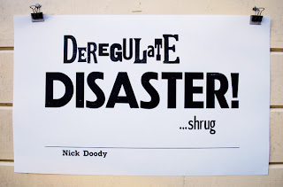 Deregulate, Disaster, Shrug - Nick Doody, The Now Show