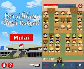 Free download game 'Bersihkan Wakil Rakyat' Android .APK Full + Data Terbaru Gratis