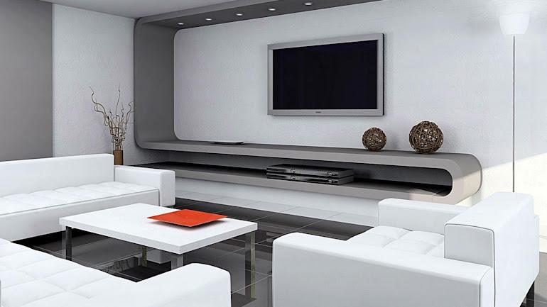 Interior A room with home cinema