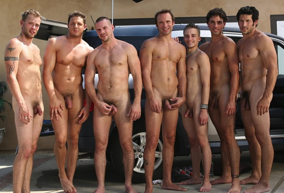 Nude Men Dancing