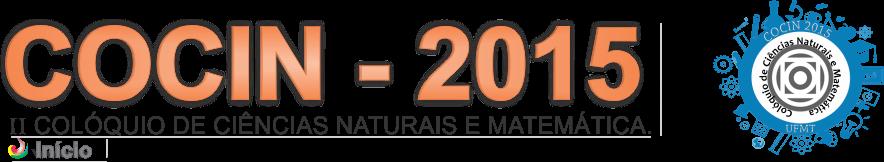 Cocin 2015 UFMT / Sinop