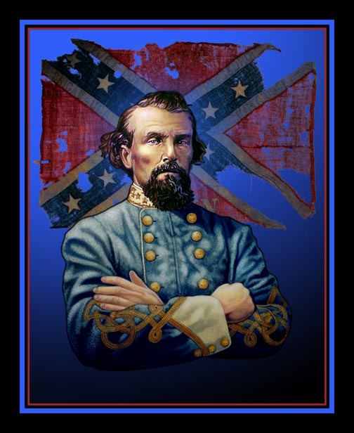 a biography nathan bedford forrest leader of the ku klux klan Nathan bedford forrest was a confederate general widely portrayed by the southern press as the civil war's most daring and cunning cavalryman with no formal military training, forrest quickly rose from the ranks of private to lieutenant general following the war, he served as the ku klux klan.