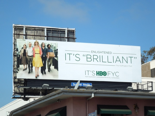 Enlightened 2 Emmy billboard