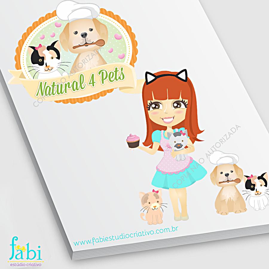 mascote bichinhos, logo delicada, logo fofa, gatinho fofo, cachorrinho fofo, draw, cute, illustrator, children