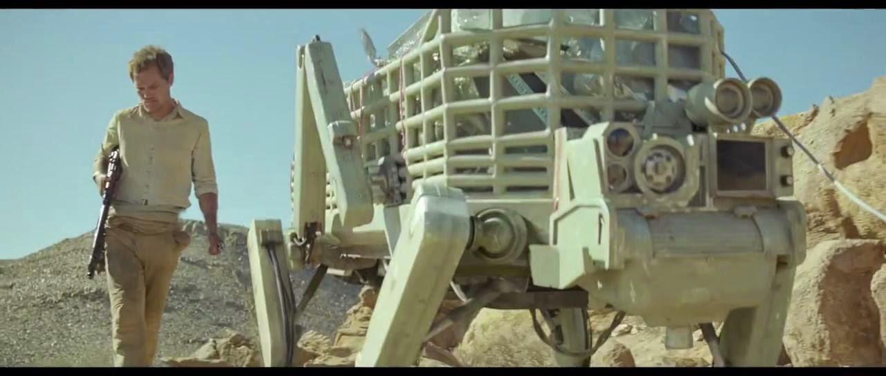 Young ones - Llevando carga en un robot