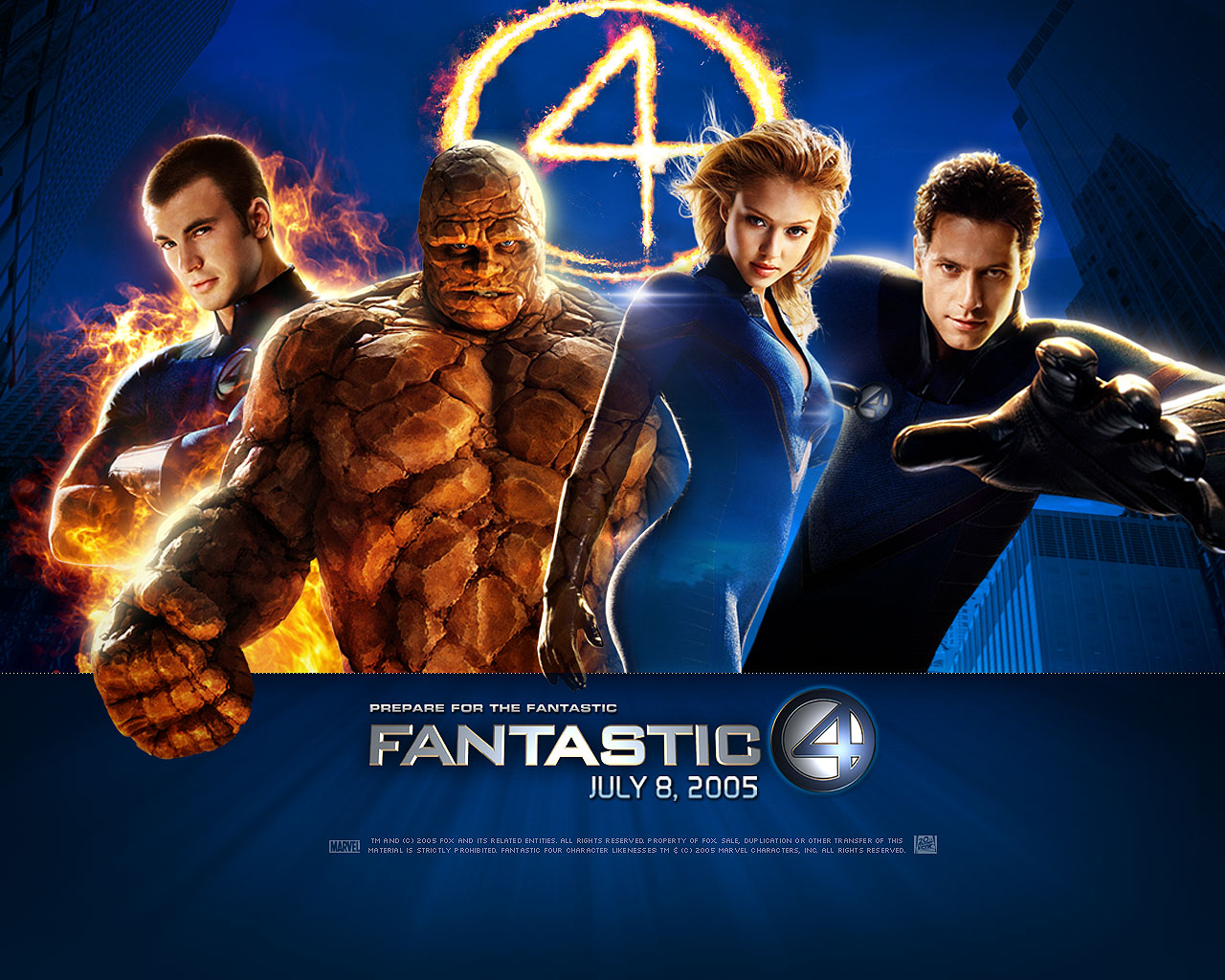 Fantastic 4 HD & Widescreen Wallpaper 0.230935550250556