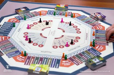 Ну очень секретное фото))) той самой игры за 4000 евро - MatriX от Е.Геллера