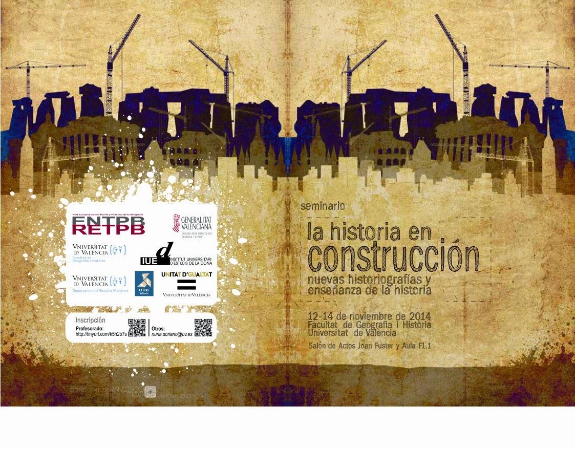Seminari: La historia en construcció. Noves Tecnologies i ensenyament de la història