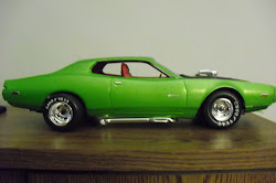 1973 Dodge Charger street rod.