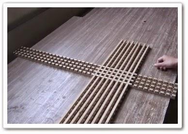 Деревянная решетка своими руками