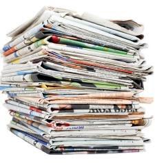 Periódicos en casa