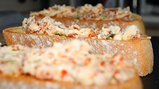 Tostas de queso mascarpone; Mascarpone toast