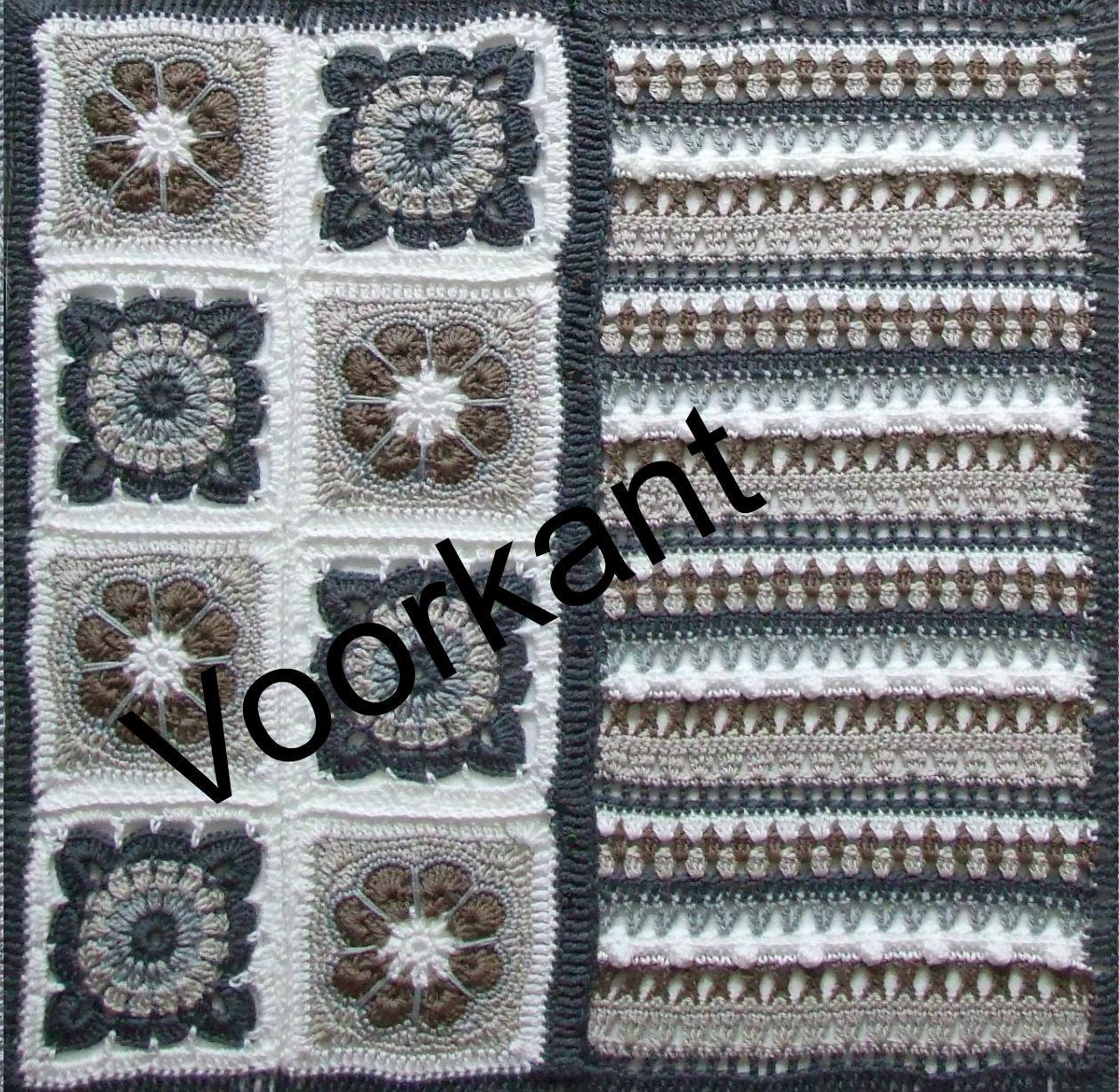 Especial And More Haken Gehaakte Kussenhoes Granny Squares And