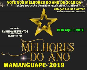 MELHORES DO ANO DE MAMANGUAPE-PB