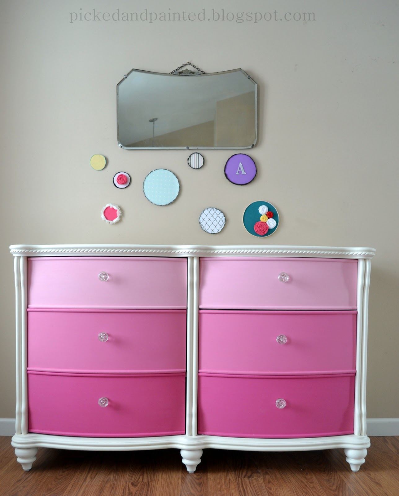 Helen nichole designs abby 39 s dresser makeover faux for Ideas for painting a dresser