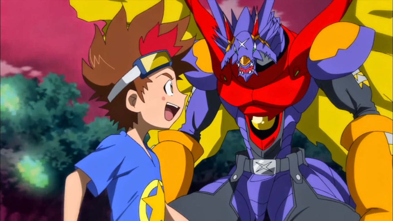 Digimon Xros Wars  OmegaShoutmon 720p HD  YouTube