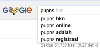PNS Menyerbu Mbah Google untuk Registrasi dan Login PUPNS
