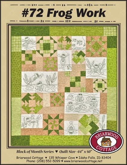 Frog Work Pattern