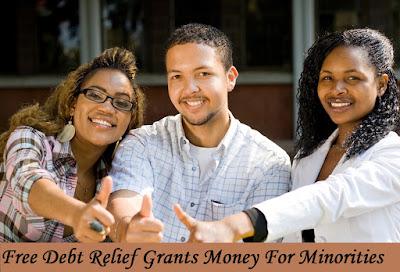 Free Debt Relief Grants For Minorities