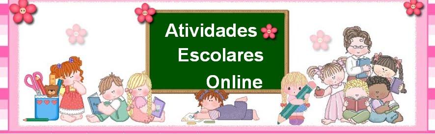 ATIVIDADES  ESCOLARES  ONLINE