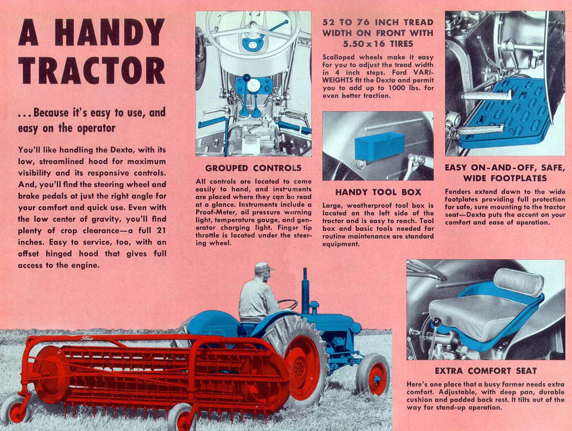 Fordson Dexta Tractor Fenders : Progress is fine but it s gone on for too long fordson
