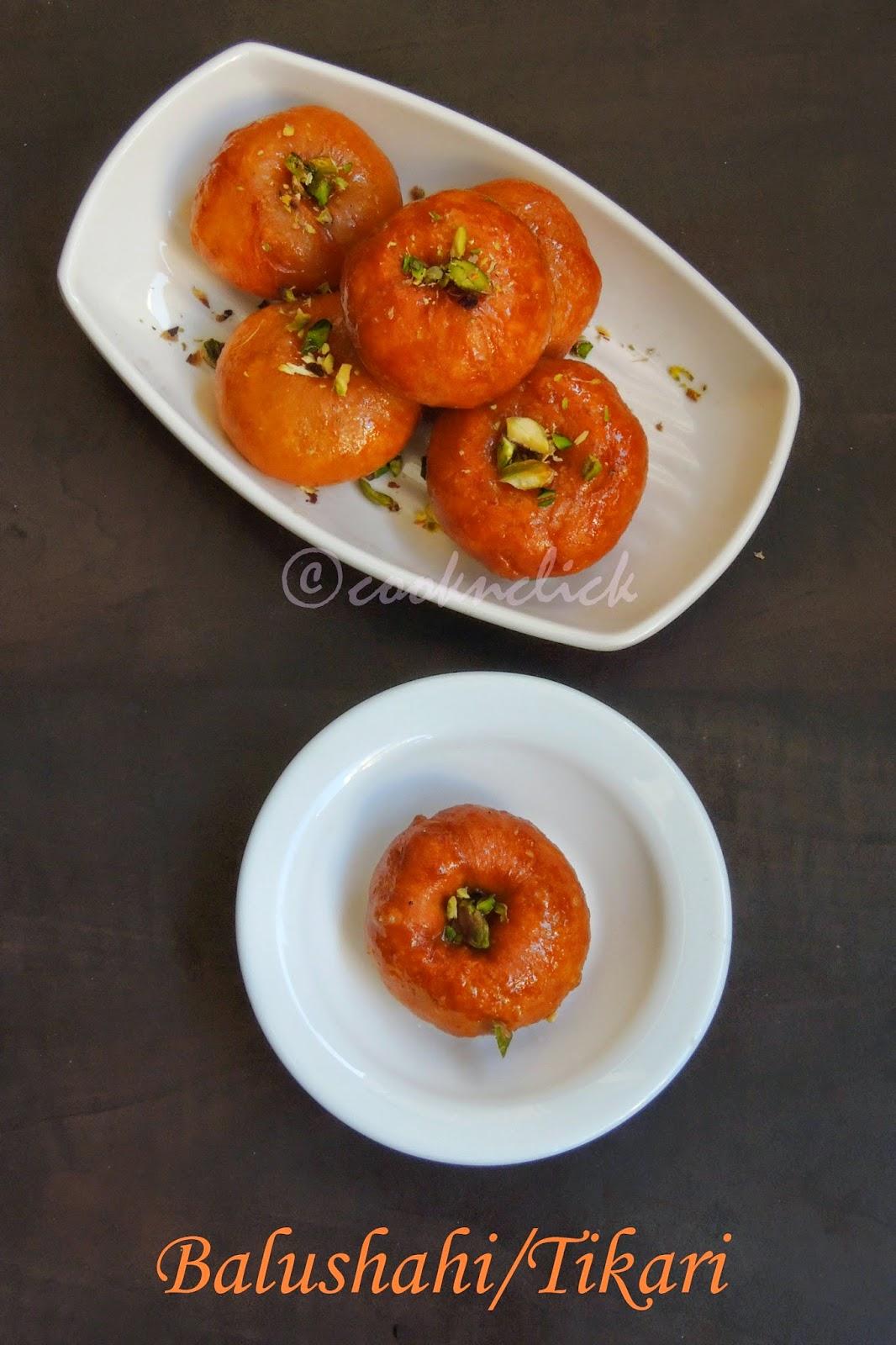 Balushahi, North Indian Badusha, Tikari, Indian Doughnuts