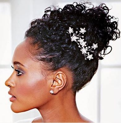 ... make~up is our hallmark!: Bridal hairstyles for natural hair