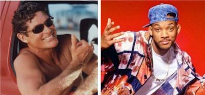 David Hasselhoff als Prinz von Bel Air