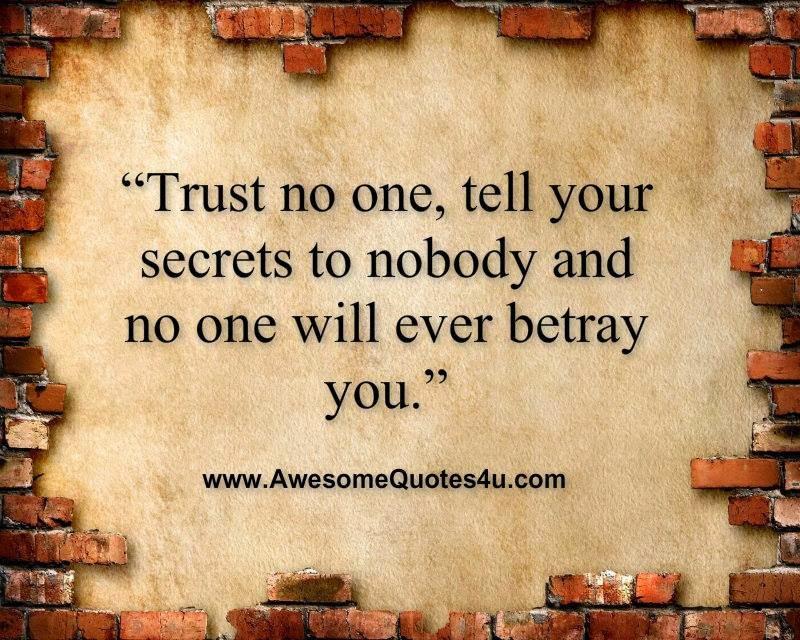 Tattoos Trust No One Quotes. QuotesGram