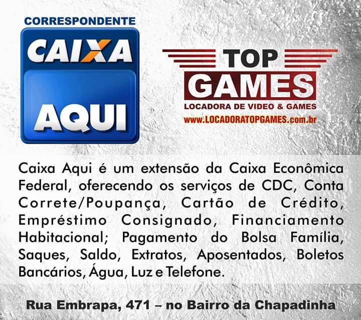 Top Games Correspondente Bancaria