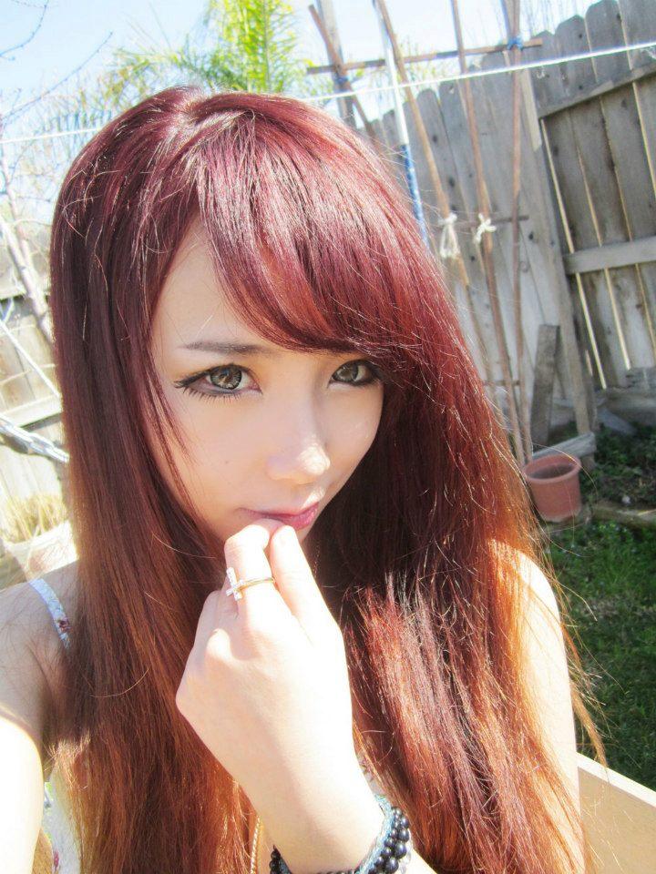 Gyaru Summer 2013 Red Hair Days