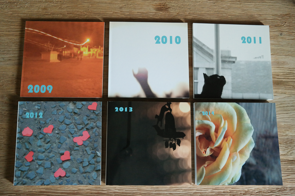 The Rooftops Annual Photobook - All Covers 2009-2014