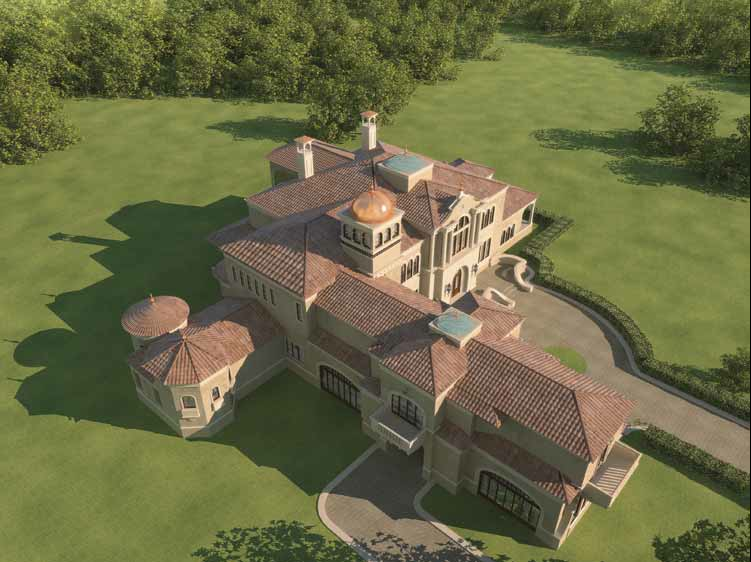 Mansions & More: European Mansion Design with Floor Plans