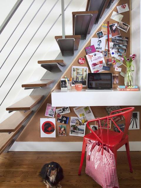 decoração embaixo de escada, como decorar embaixo de escada