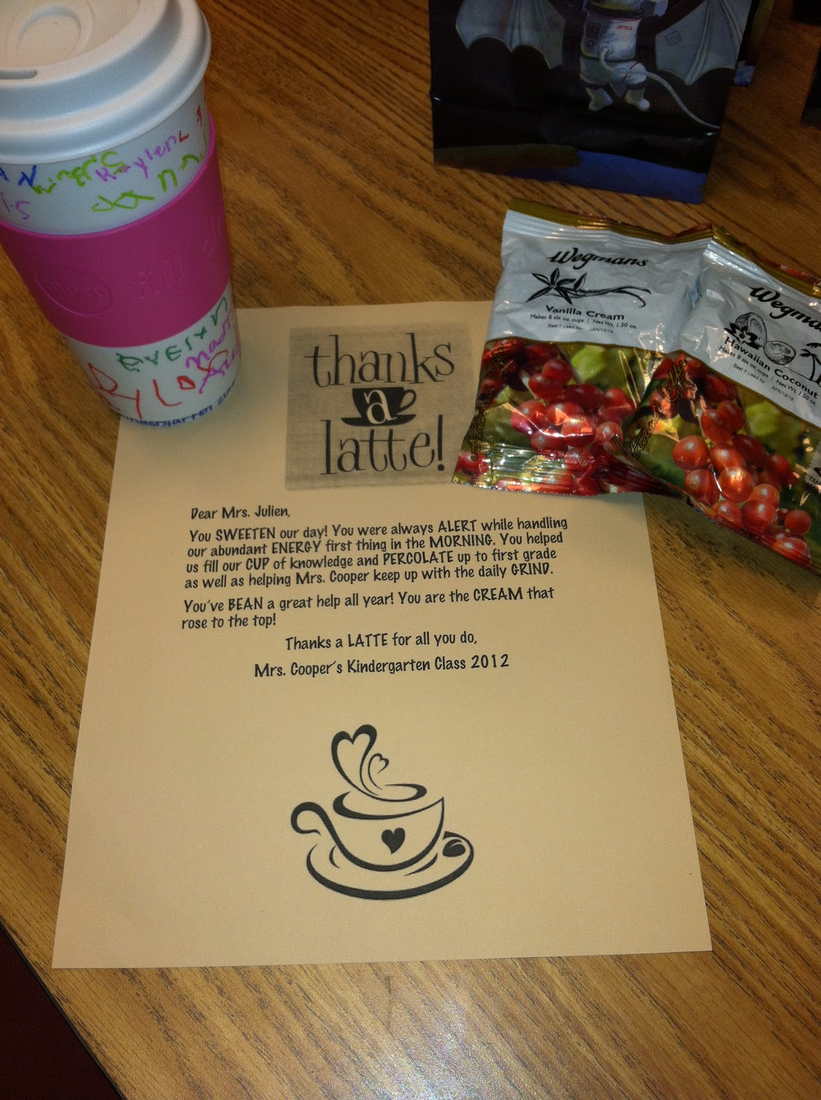 Thank You Gifts For Parents Ideas : Hangin with Mrs. Cooper: Parent Volunteer Thank You Gifts