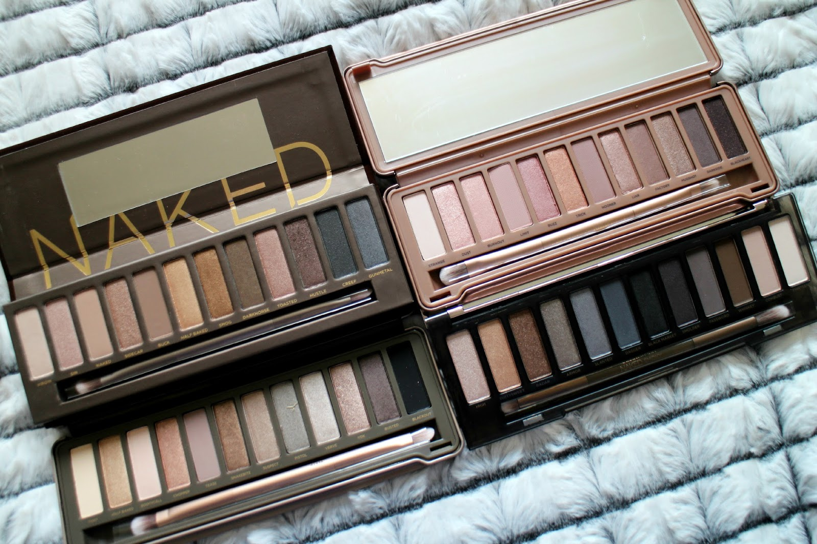 Naked Palettes Review