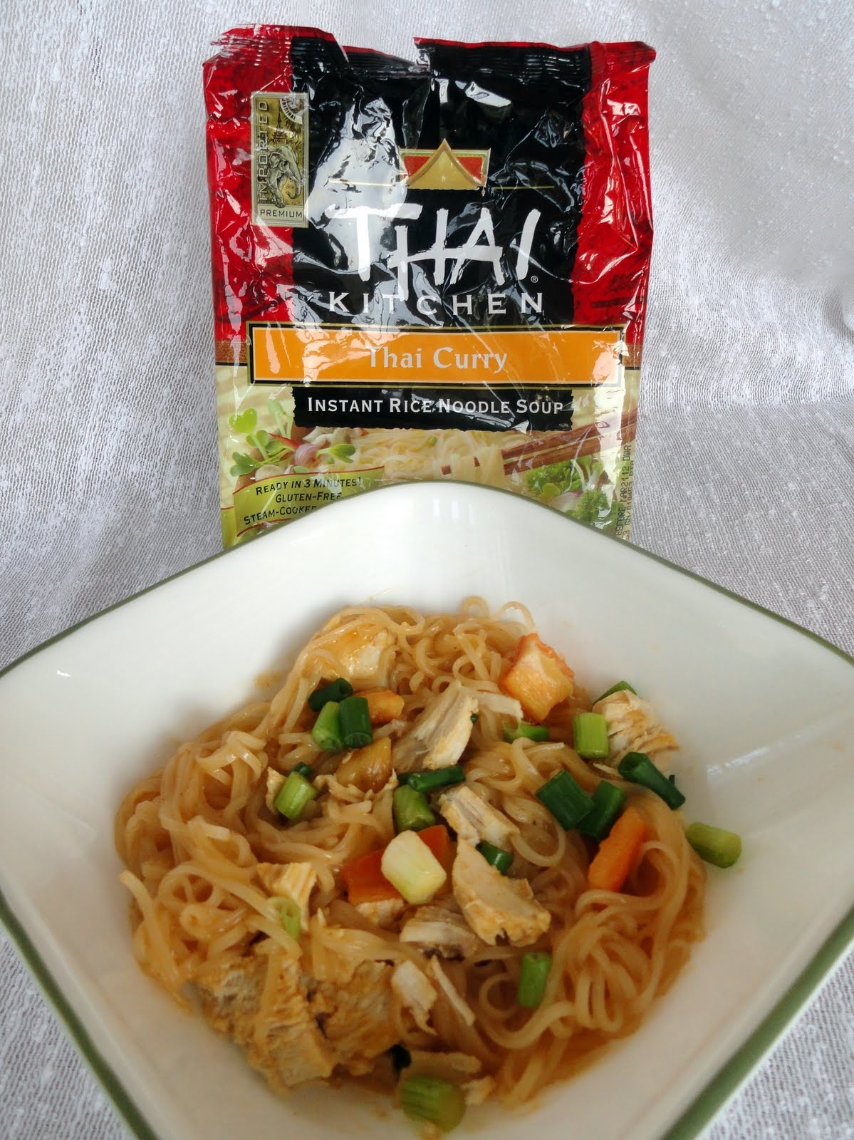 As Good As Gluten My Pantry Thai Kitchen 39 S Thai Curry Instant Rice Noodle Soup