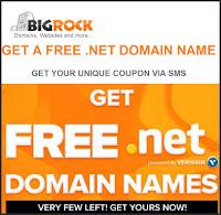 Bigrock : Free .net Domain Name : Buytoearn