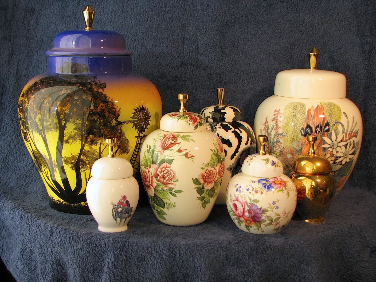Handmade Ceramic Memorial Urns