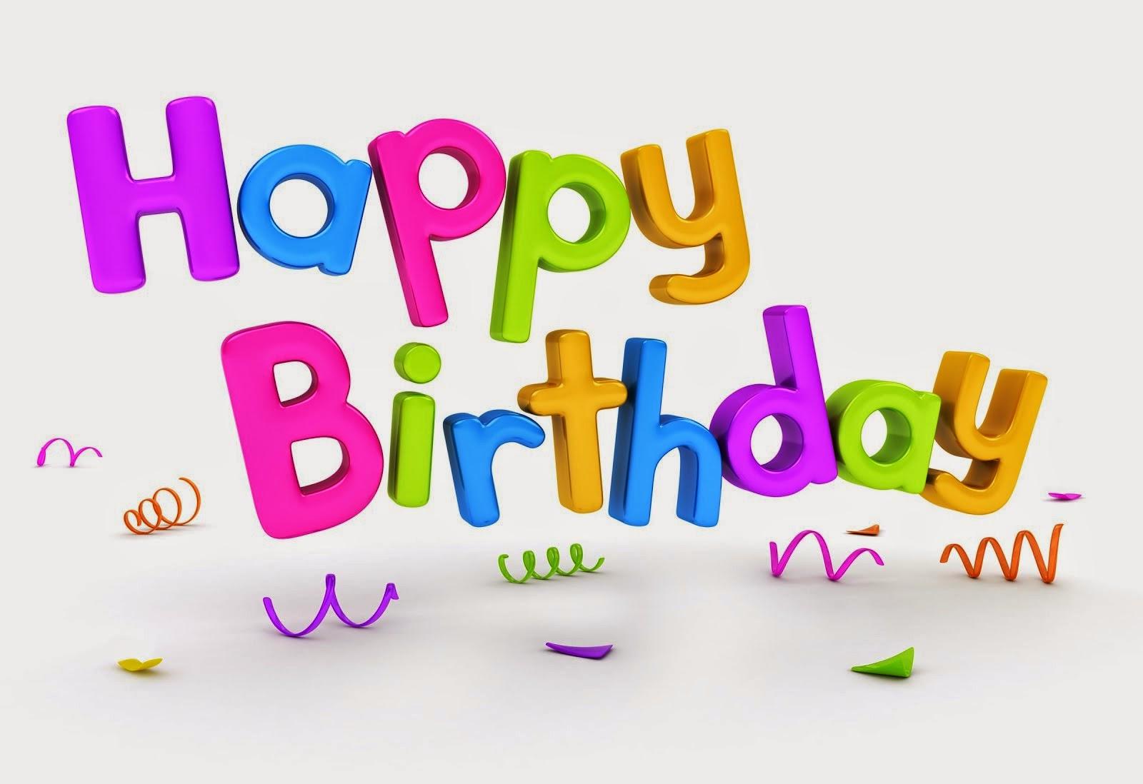 Поздравления на день рождения по английски