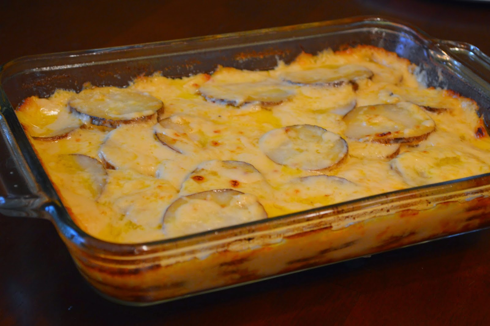 ... Day At A Time - From My Kitchen To Yours: Creamy Au Gratin Potatoes